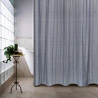 Eyelet Chain Shower Curtain