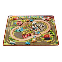 Melissa & Doug Deluxe Multi-Vehicle Activity Rug + $10 Kohls Cash