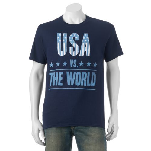 "Men's ""USA Vs. The World"" Tee"