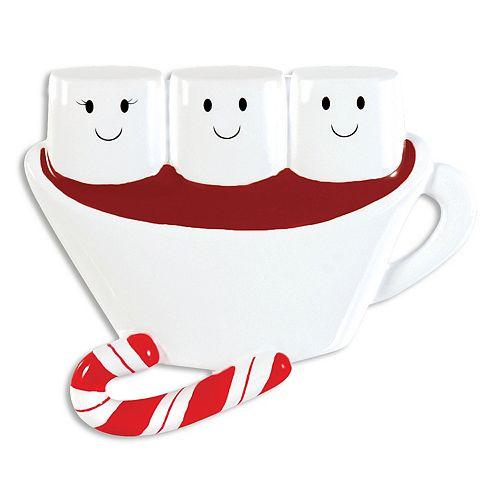 PolarX Ornaments Hot Chocolate Family Of 3 Christmas Ornament