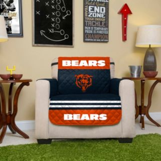 Chicago Bears Quilted Chair Cover