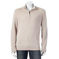 Big & Tall Dockers® Classic-Fit Quarter-Zip Sweater