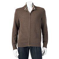 Big & Tall Dockers Classic-Fit Full-Zip Sweater