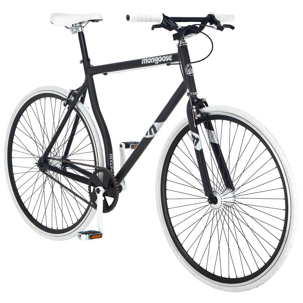 Men's Mongoose Detain 700c Wheel Fixie Bike