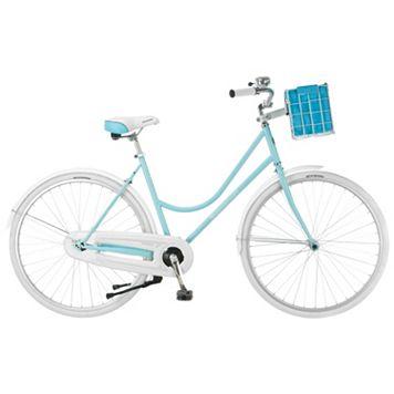 Women's Schwinn 700c Wheel Scenic Dutch Style Cruiser Bike with Basket & Bell