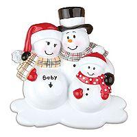 PolarX Ornaments Snowman Family