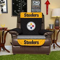 Pittsburgh Steelers Quilted Recliner Chair Cover