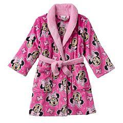 Disney's Minnie Mouse Toddler Girl Robe