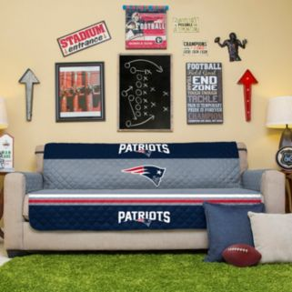 New EnglandPatriots Quilted Sofa Cover