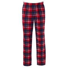 Mens Red Plaid Pajama Bottoms - Sleepwear, Clothing | Kohl's