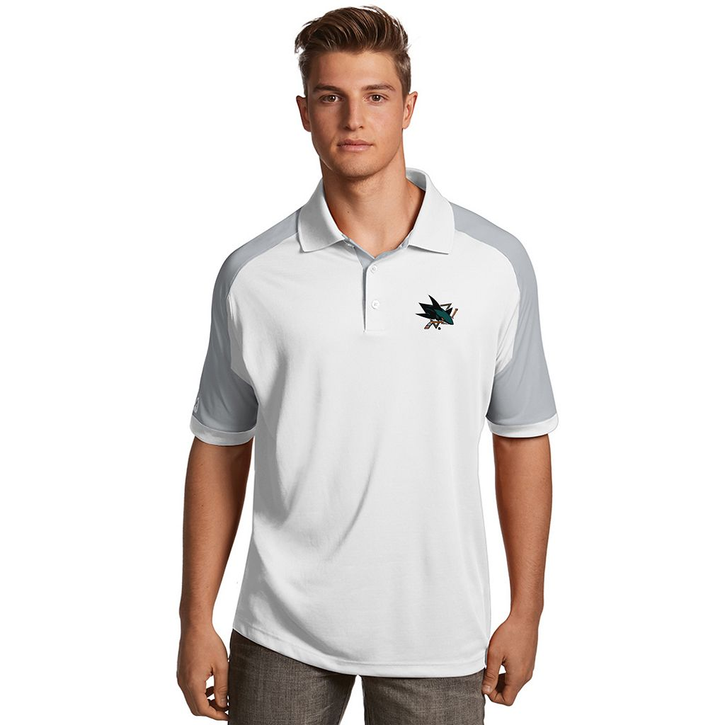 Men's Antigua San Jose Sharks Century Polo