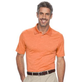 Men's Haggar Classic-Fit Textured Performance Polo
