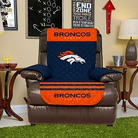 Denver Broncos Quilted Recliner Chair Cover
