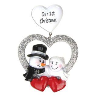 "PolarX Ornaments ""Our 1st Christmas"" Christmas Ornament"