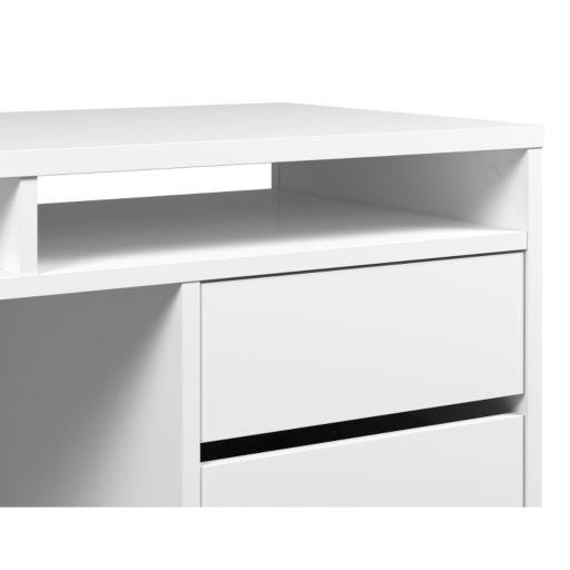 Tvilum Whitman Plus 4-Drawer Desk