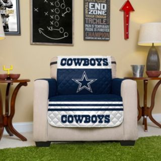 Dallas Cowboys Quilted Chair Cover