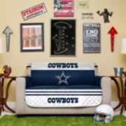 Dallas Cowboys Quilted Loveseat Cover