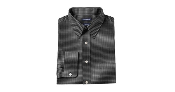 Big Amp Tall Croft Amp Barrow Fitted Checked Dress Shirt