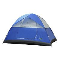Stansport Teton 4-Person Dome Tent (Blue White)