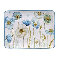 Certified International The Greenhouse Rectangular Serving Platter