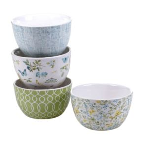 Certified International The Greenhouse 4-pc. Bowl Set