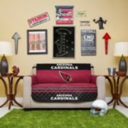 Arizona Cardinals Quilted Loveseat Cover
