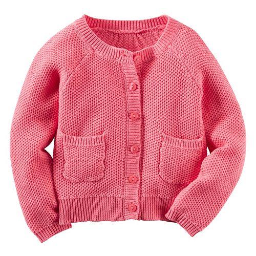 Girls 4-8 Carter's Knit Cardigan