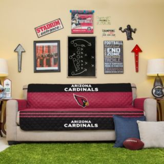 Arizona Cardinals Quilted Sofa Cover