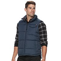 Men's Hemisphere Solid Puffer Vest