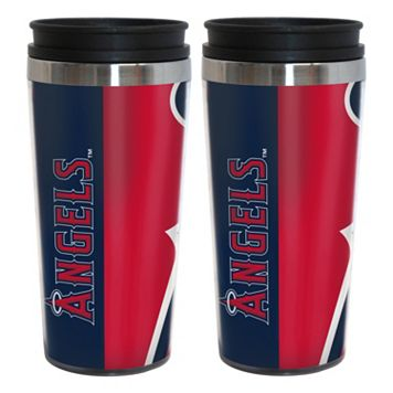 Los Angeles Angels of Anaheim 2-Pack Hype Travel Tumblers