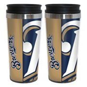 Milwaukee Brewers 2-Pack Hype Travel Tumblers