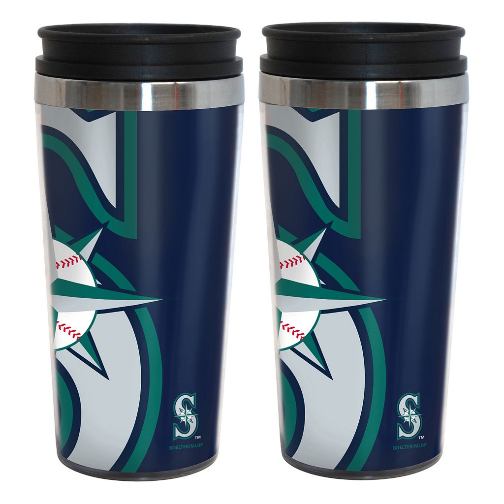 Seattle Mariners 2-Pack Hype Travel Tumblers