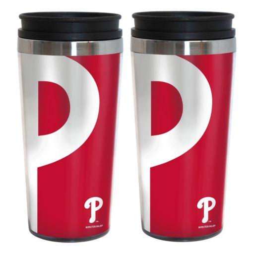 Philadelphia Phillies 2-Pack Hype Travel Tumblers