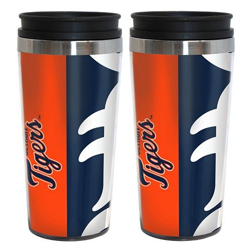 Detroit Tigers 2-Pack Hype Travel Tumblers