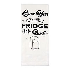 Park B. Smith 'Love You to the Fridge & Back' Kitchen Towel 2-pk.