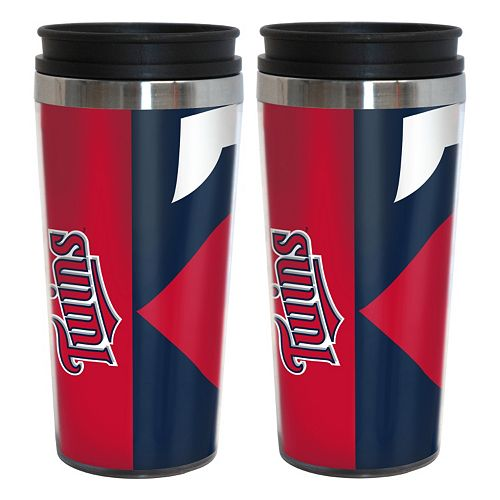 Minnesota Twins 2-Pack Hype Travel Tumblers