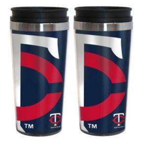 Minnesota Twins 2-Pack Hype Travel Tumblers