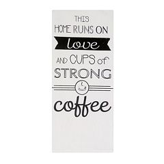 Park B. Smith 'Love & Strong Coffee' Kitchen Towel 2-pk.