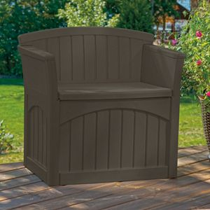 Suncast 31 Gallon Storage Patio Seat