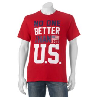 "Big & Tall ""No One Better Than U.S."" Tee"