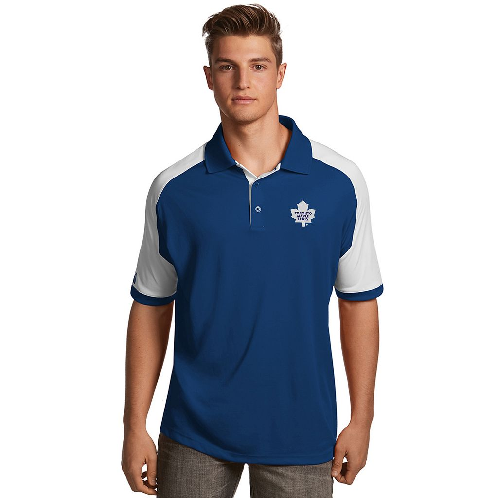 Men's Antigua Toronto Maple Leafs Century Polo