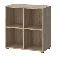 Tvilum Stewart Oak Finish Cube Bookshelf