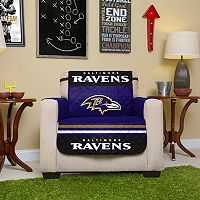 Baltimore Ravens Quilted Chair Cover