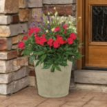Suncast Langston 16-in. Planter 2-piece Set
