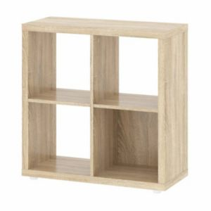 Tvilum Demi Oak Finish Cube Bookshelf