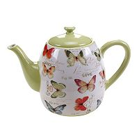 Certified International Rainbow Seeds 40-oz. Teapot