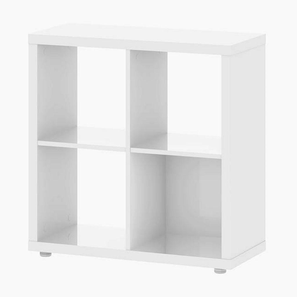Tvilum Demi White Cube Bookshelf