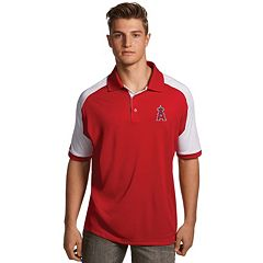 Men's Antigua Los Angeles Angels of Anaheim Century Polo