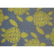 United Weavers Panama Jack Sea Turtle Rug