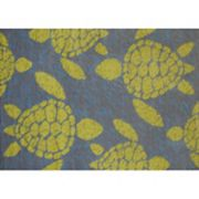 United Weavers Panama Jack Sea Turtle Rug